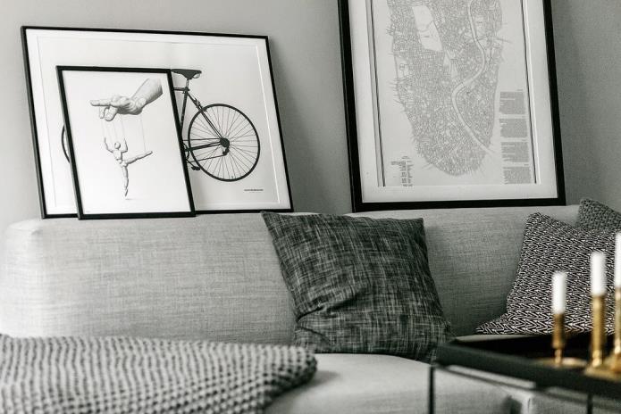 Фото интерьера маленькой однокомнатной квартиры 38 кв.м (12)