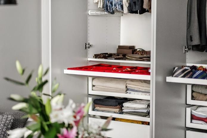 Фото интерьера маленькой однокомнатной квартиры 38 кв.м (14)