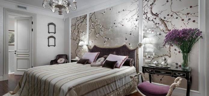 интерьер спальни в серой гамме (20)
