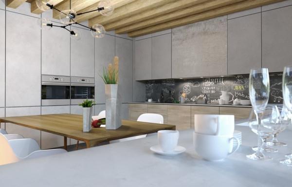 отделка из бетона в современном интерьере (12)