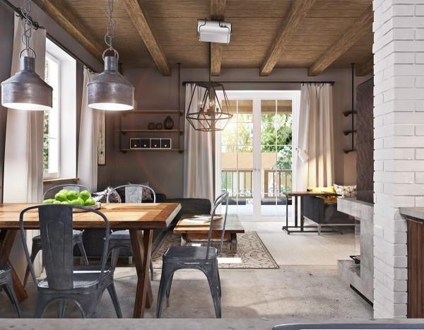 отделка из бетона в современном интерьере (17)
