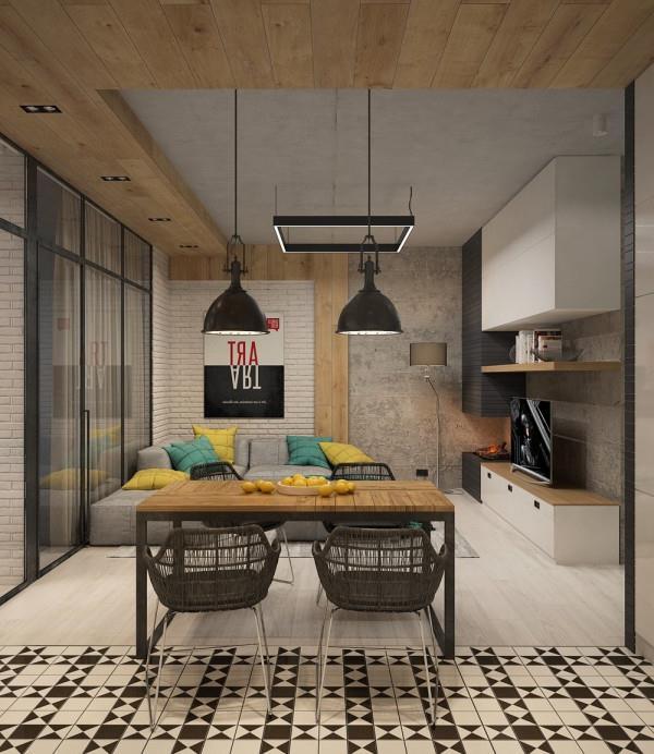 отделка из бетона в современном интерьере (20)