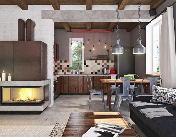 отделка из бетона в современном интерьере (3)