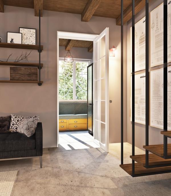 отделка из бетона в современном интерьере (6)
