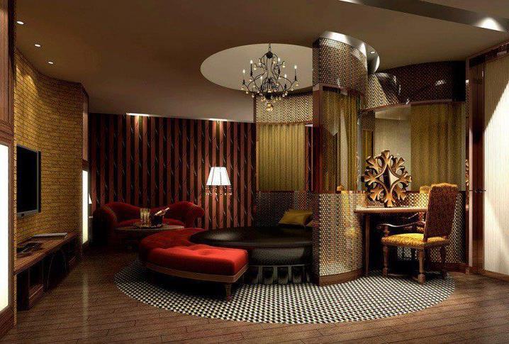 Потрясающий дизайн спальни с круглой кроватью (13)