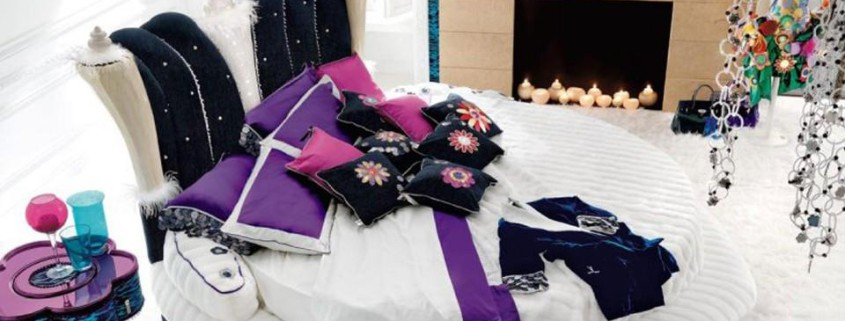 Потрясающий дизайн спальни с круглой кроватью (19)