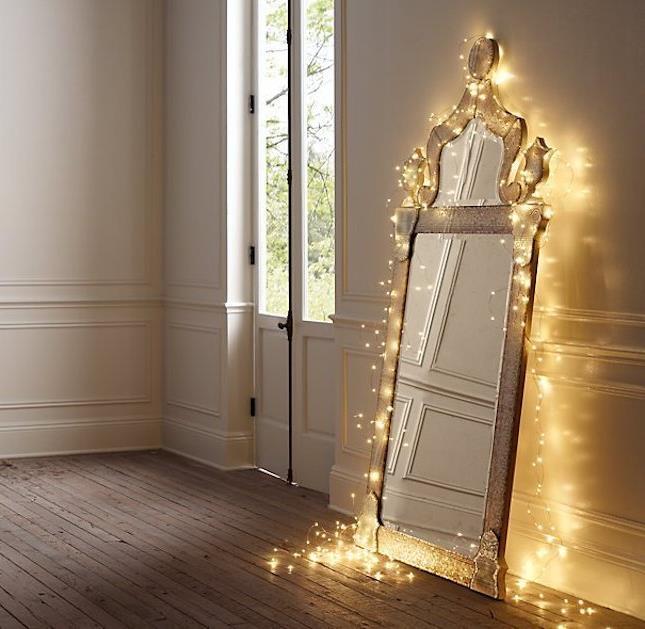 Световое украшение интерьера к Рождеству и Новому Году (11)