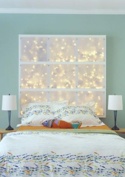 световое украшение интерьера к рождеству и новому году (6)