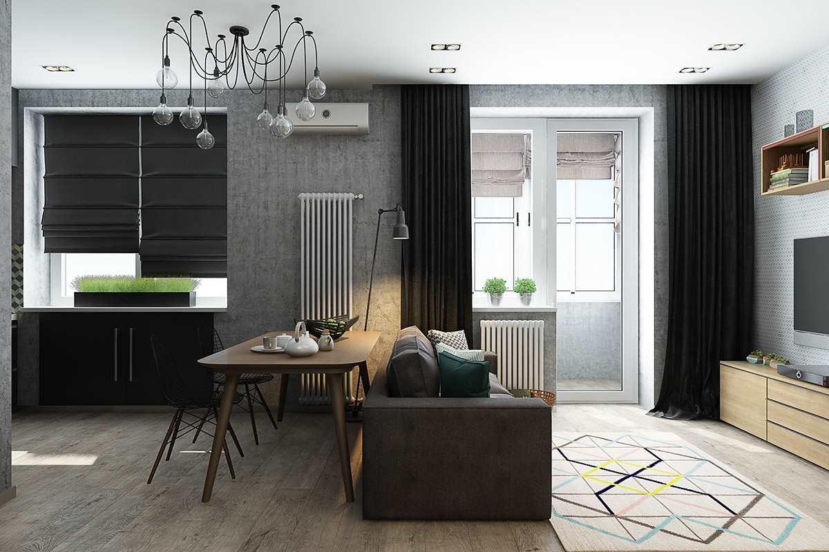 Дизайн маленькой квартиры 40 кв (2)