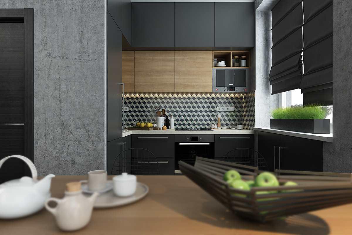 Дизайн маленькой квартиры 40 кв (4)