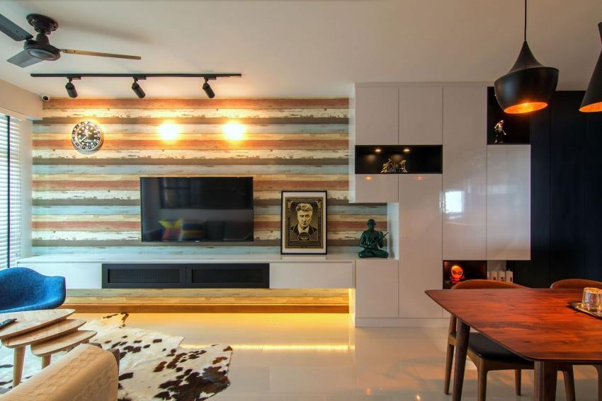 Дизайн стильной современной квартиры в Сингапуре (16)