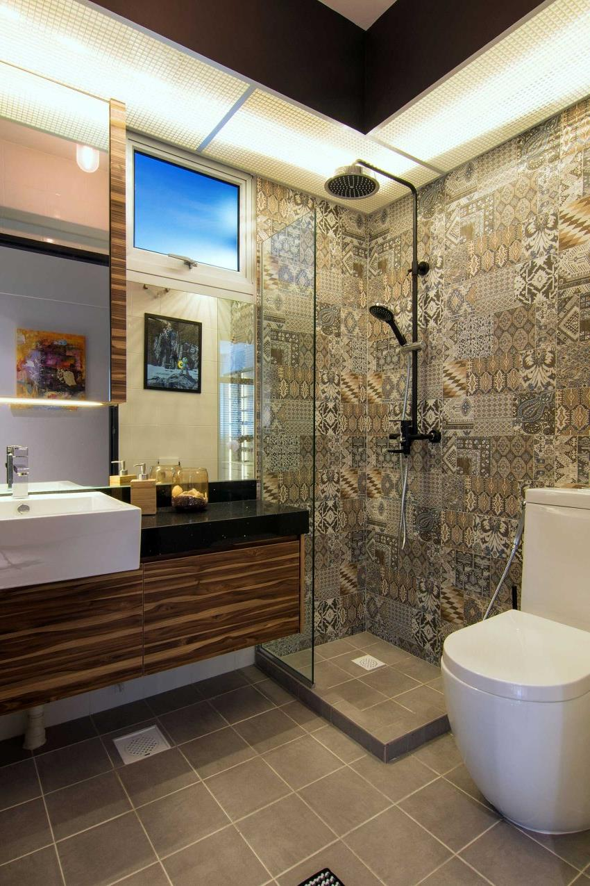 Дизайн стильной современной квартиры в Сингапуре (2)