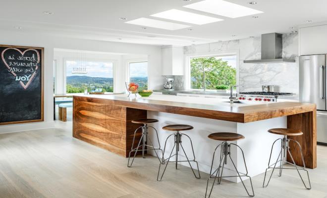 Дизайнерские идеи для небольшой кухни (10)