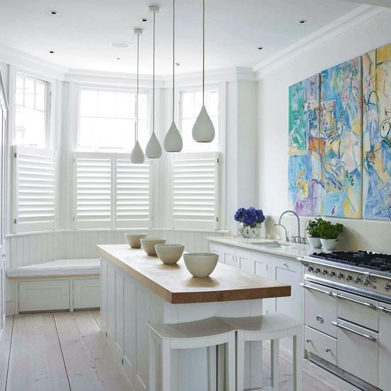 Дизайнерские идеи для небольшой кухни (15)