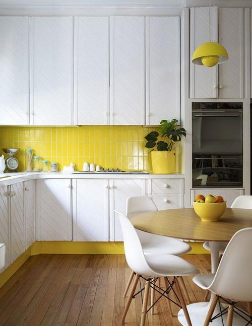 Дизайнерские идеи для небольшой кухни (21)