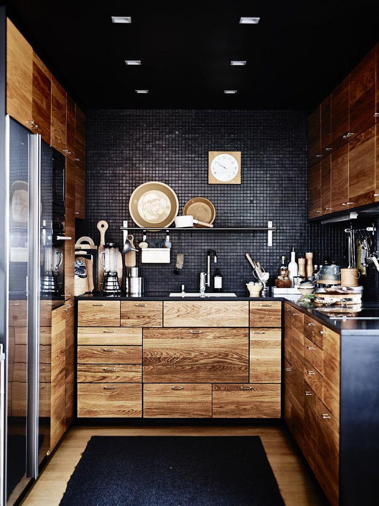 Дизайнерские идеи для небольшой кухни (4)