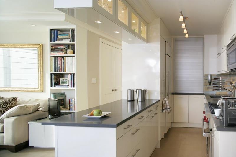 Дизайнерские идеи для небольшой кухни (5)