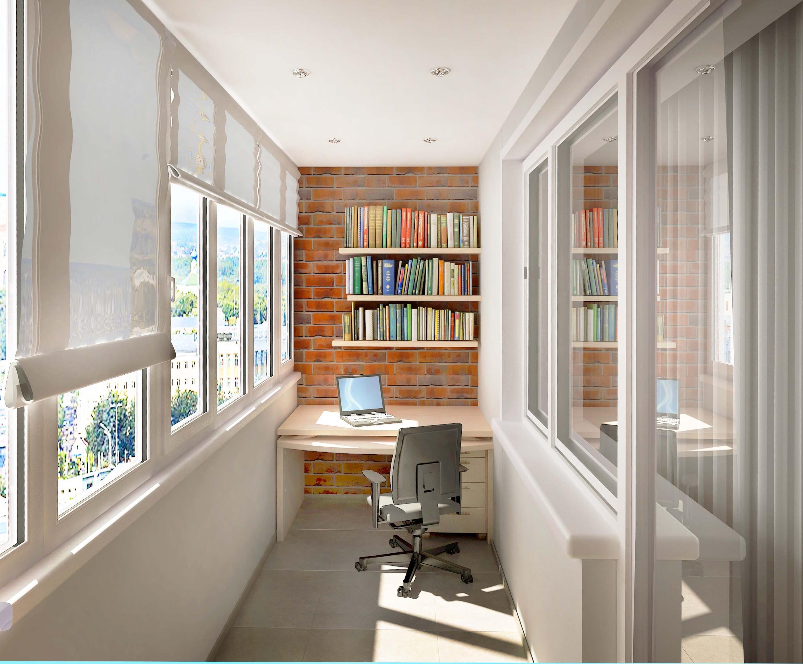 Как превратить балкон в полезную площадь