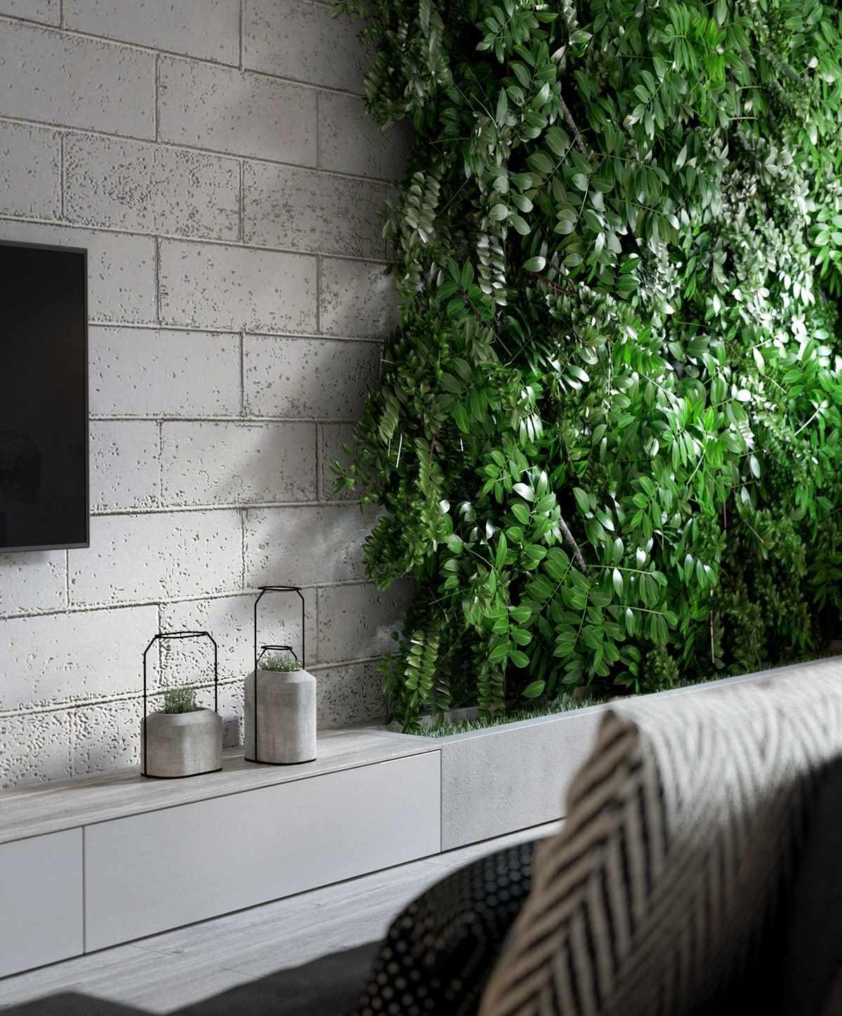 Планировка современной квартиры 43 кв.м (3)