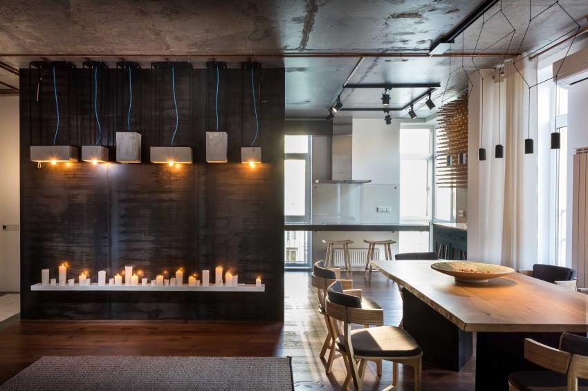 дизайн стильной двухкомнатной квартиры (13)