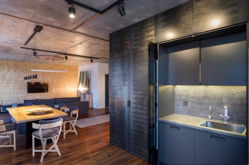 дизайн стильной двухкомнатной квартиры (15)