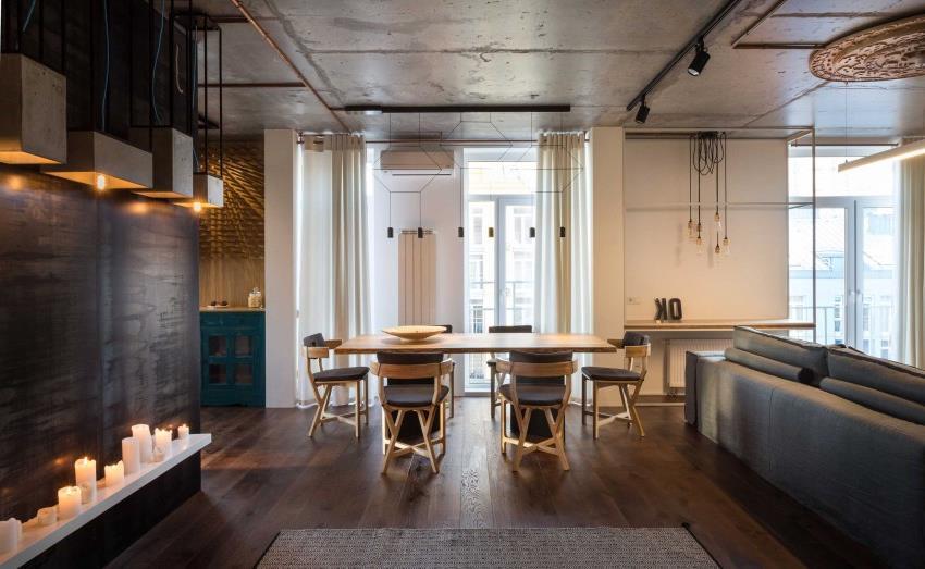 дизайн стильной двухкомнатной квартиры (16)