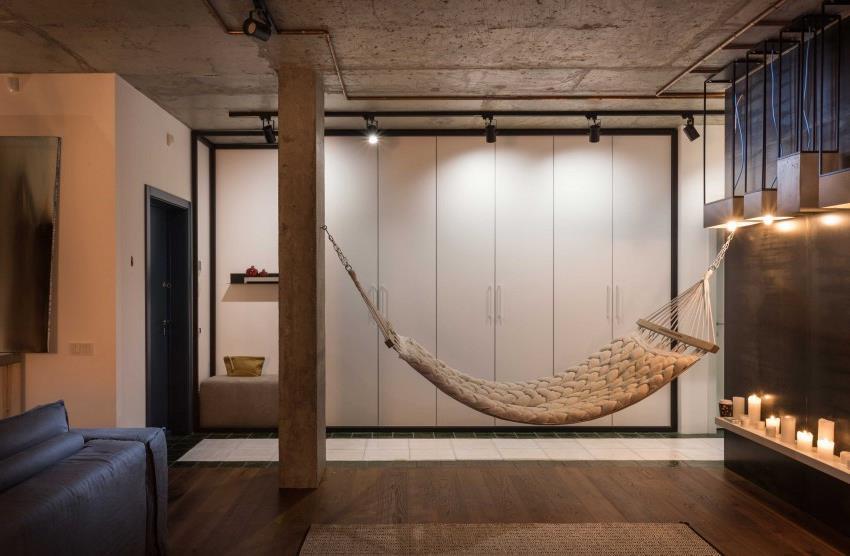 дизайн стильной двухкомнатной квартиры (19)