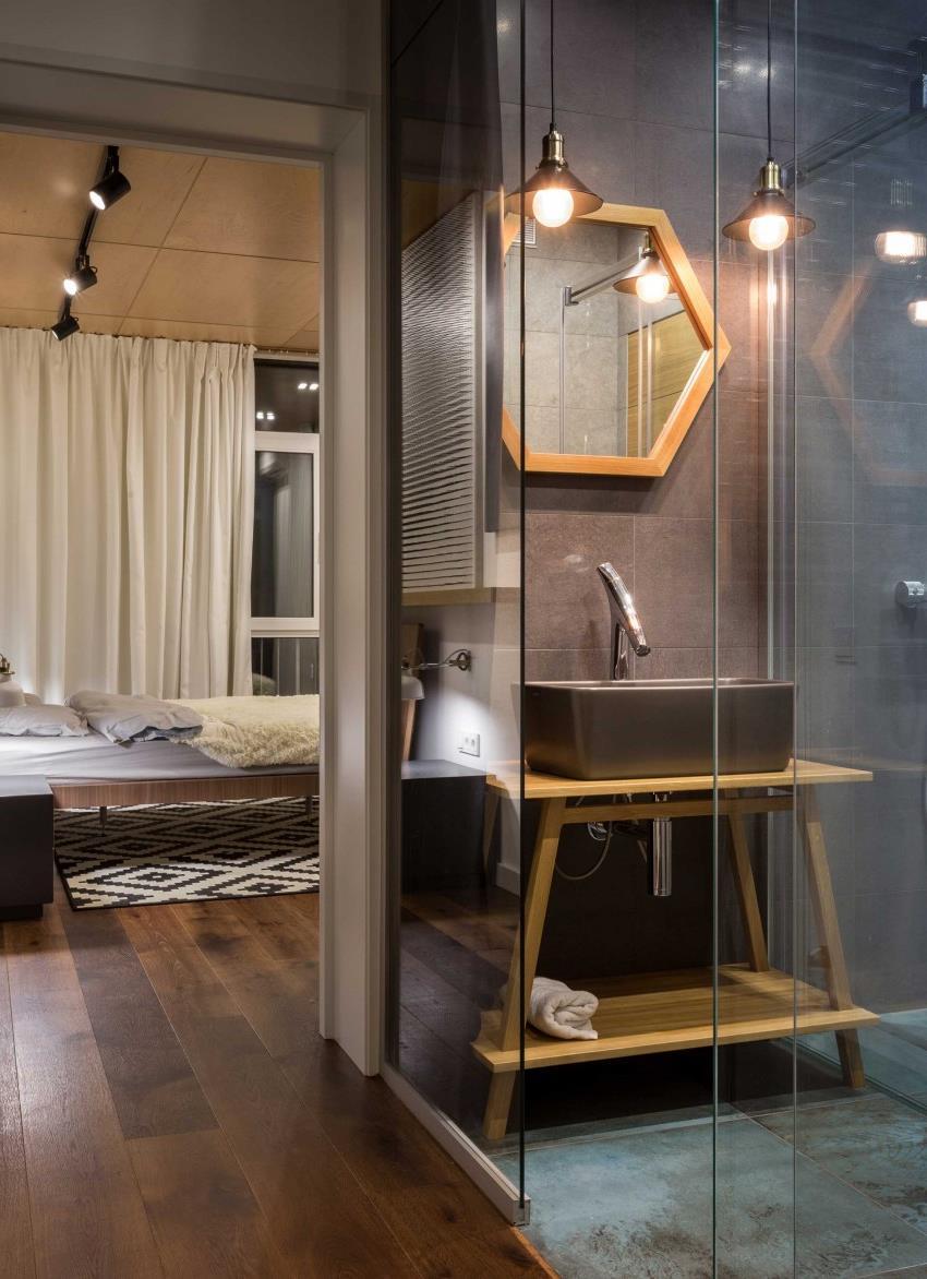 дизайн стильной двухкомнатной квартиры (2)