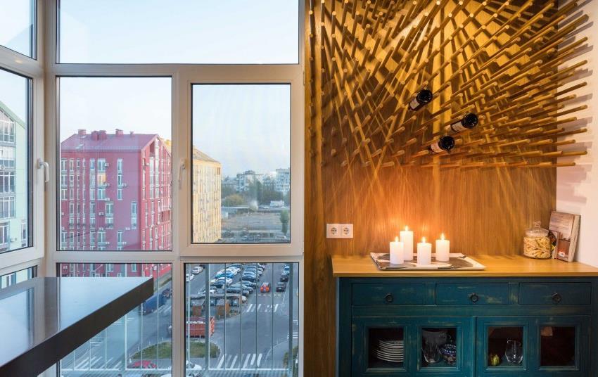 дизайн стильной двухкомнатной квартиры (5)