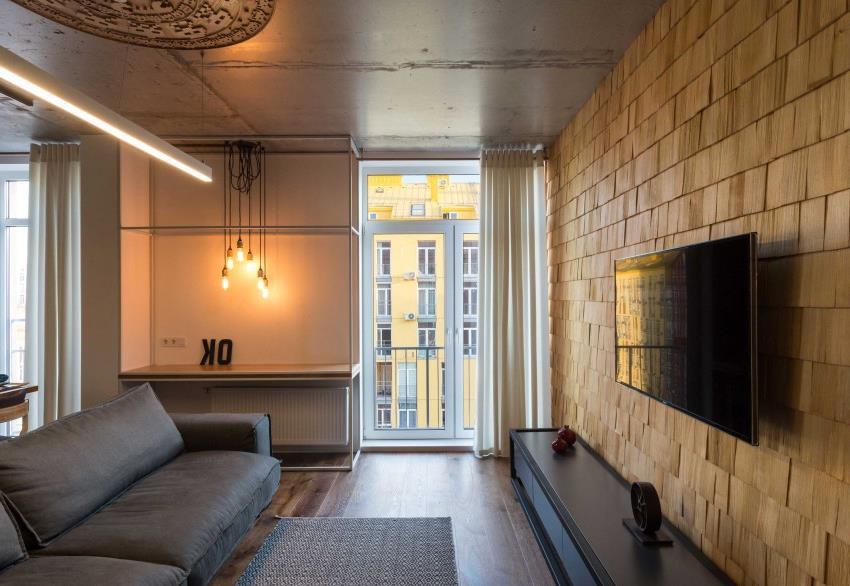 дизайн стильной двухкомнатной квартиры (9)