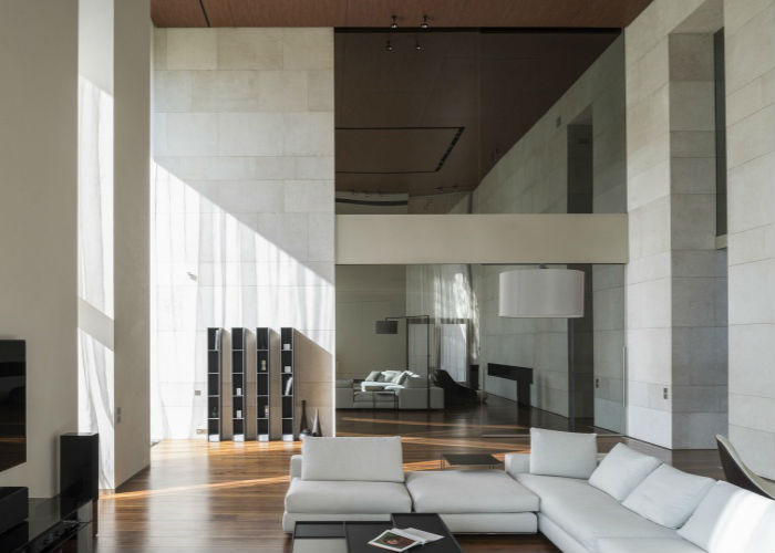 камень в дизайне интерьера2