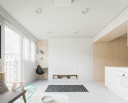 маленькая современная студия 20 кв.м (6)