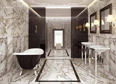 плитка под камень в ванную (23)