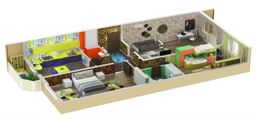 современные планировки квартир