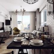 современные красивые интерьеры квартир (21)