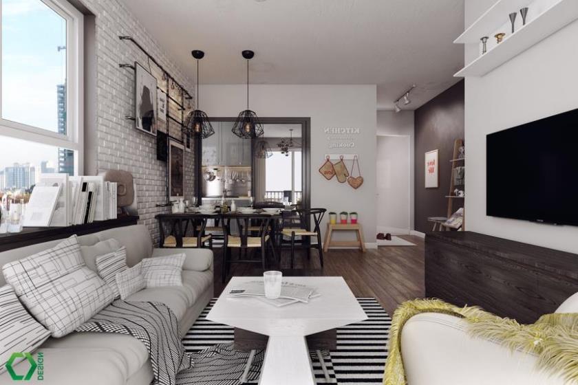 современные красивые интерьеры квартир (7)