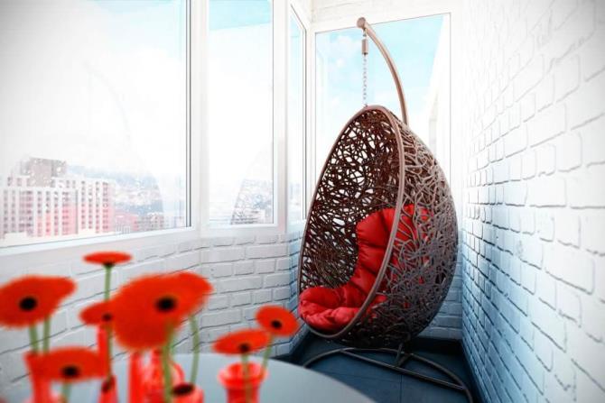 качели в интерьере квартиры (2)