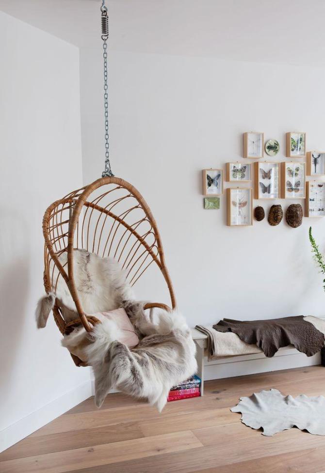 качели в интерьере квартиры (4)