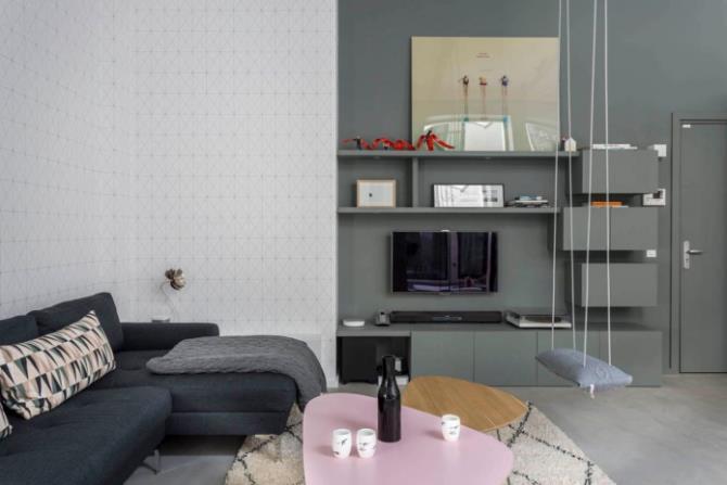 качели в интерьере квартиры (55)
