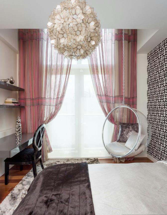 качели в интерьере квартиры (56)