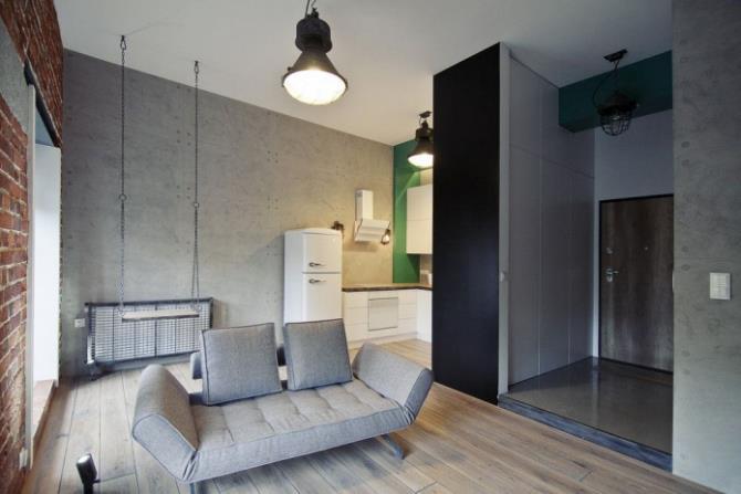 качели в интерьере квартиры (62)