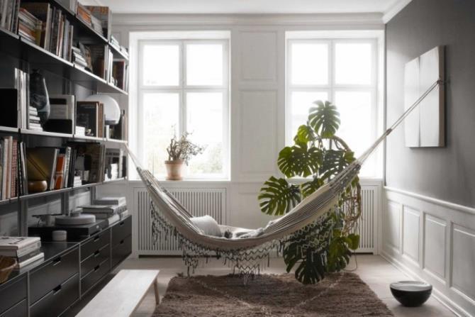 качели в интерьере квартиры (66)