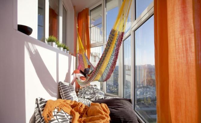 качели в интерьере квартиры (68)