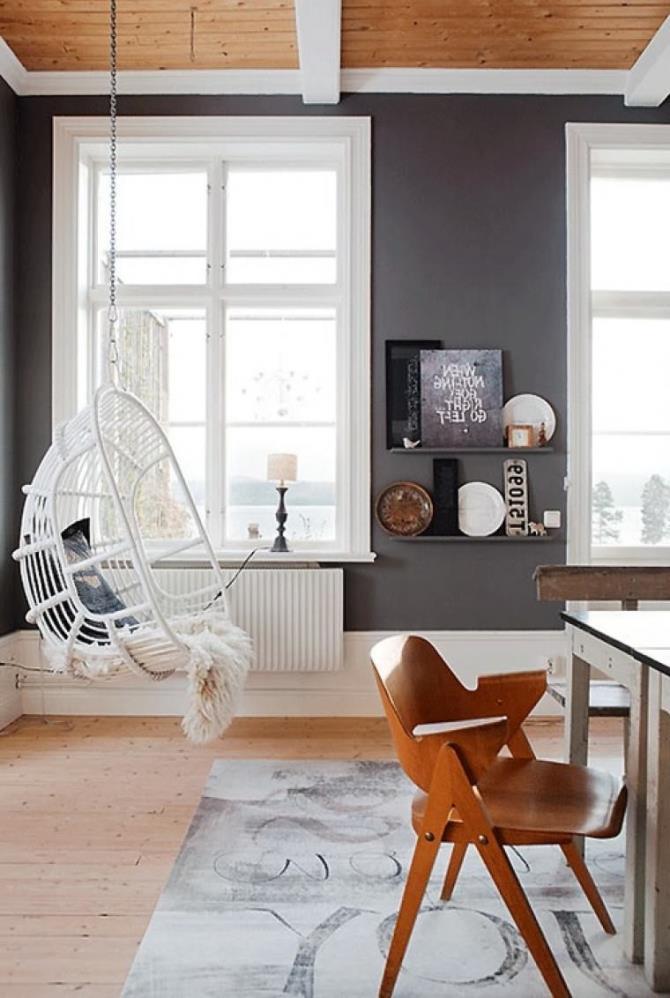 качели в интерьере квартиры (8)