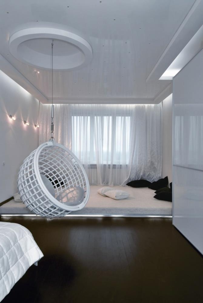 качели в интерьере квартиры (9)
