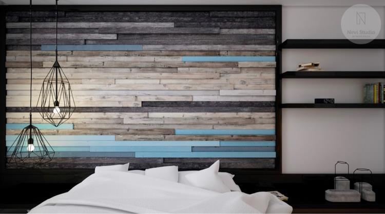 25 красивых примеров акцентной стены в спальне (1)
