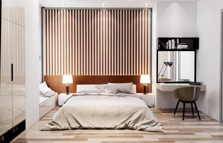 25 красивых примеров акцентной стены в спальне (12)