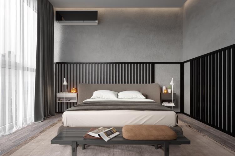 25 красивых примеров акцентной стены в спальне (17)