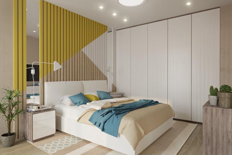 25 красивых примеров акцентной стены в спальне (20)