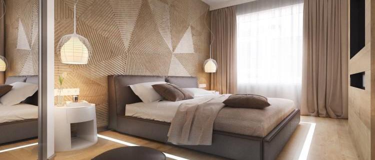 25 красивых примеров акцентной стены в спальне (23)